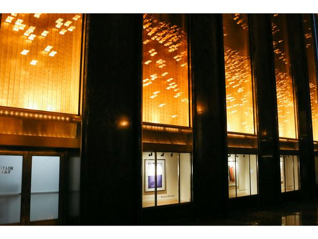 Light and Movement exhibit on display at Rock Center.