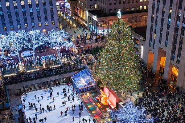 The tree will be lit for the first time on Wednesday, November 29 at  Rockefeller Plaza and will remain on display through January 7, 2018.