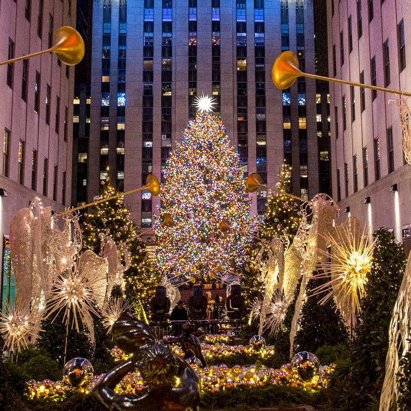 Rockefeller Plaza Christmas Tree 2020 New York City Holiday Events   Christmas in NYC | Rockefeller Center