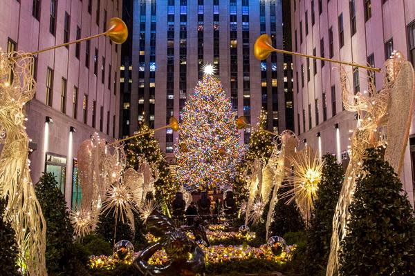 When Does New York City Light The Christmas Tree 2020 New York City Holiday Events   Christmas in NYC | Rockefeller Center