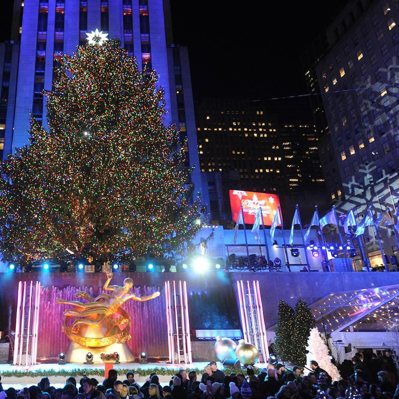 new york city holiday events christmas in nyc rockefeller center