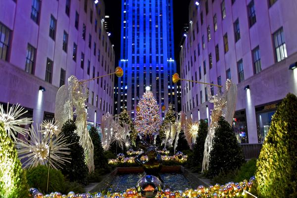 Map Of New York Rockefeller Center.2018 Rockefeller Center Christmas Tree At Rockefeller Center