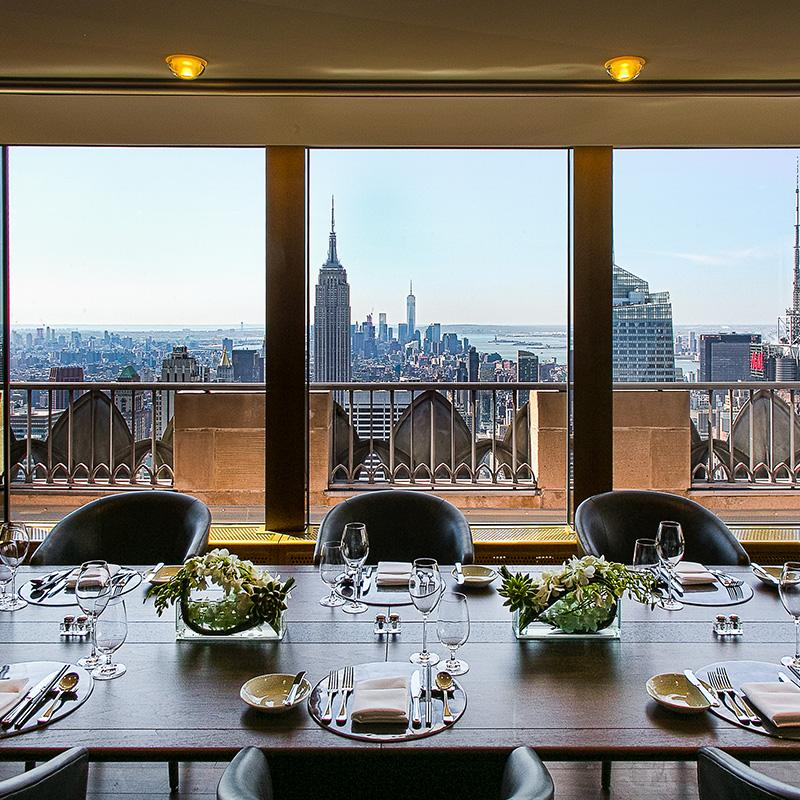 Small Private Dining Rooms Nyc | Rockefeller Center Private Event Space In New York City