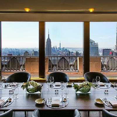 Presiding 65 Stories Above Midtown Manhattan, The Private Dining Room  Offers Personalized Attention And Walls Of Windows To Impress Your Guests  With ...
