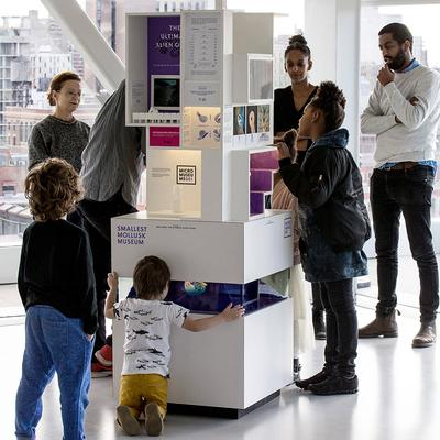MICROs Smallest Mollusk Museum A 6 Foot Tall Science That Contains 15 Multimedia Exhibitions Will Be Displayed On The Concourse Level Of 30
