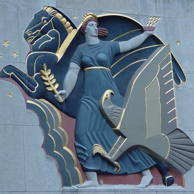 the history and purpose of the rockefeller center Rockefeller center is a national historic landmark in the heart of midtown manhattan  45 rockefeller plaza, new york  a lot of history about the.