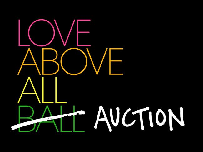 'Love Above All' Auction