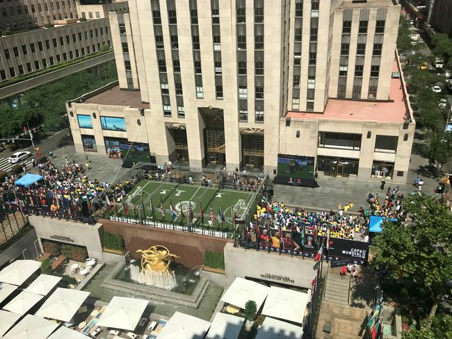 World Cup on the Plaza