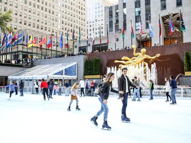Image result for rockefeller ice skating