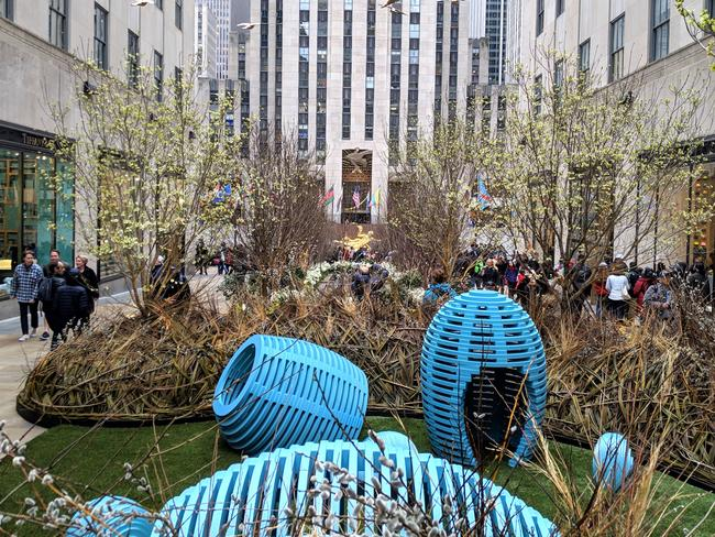 Easter Sunday at Rock Center