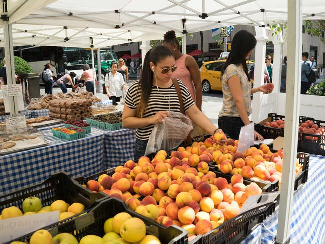 The Farmers Market Is Back!