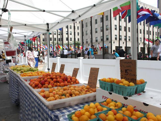 The Farmers Market Is Back