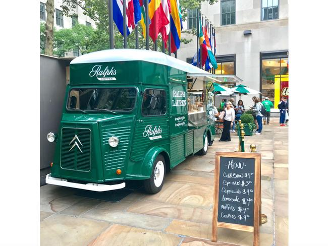 Ralph's Coffee Truck Arrives