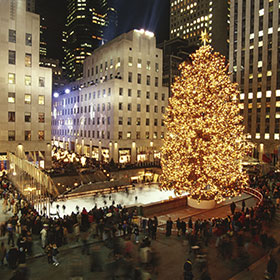 Rockefeller Center Christmas Tree Lighting | Rockefeller Center